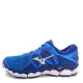 Mizuno Wave Sky 2 [J1GC180203] 男鞋 運動 走路 跑步 氣墊 避震 休閒 美津濃 藍銀