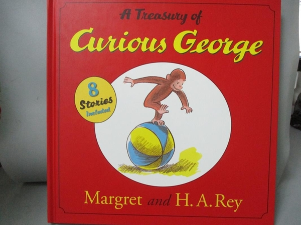 【書寶二手書T1/兒童文學_ZFV】A Treasury Of Curious George
