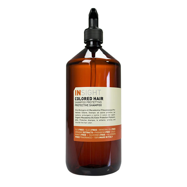 INSIGHT 堅果油護色洗髮精 1000ml (OS小舖)