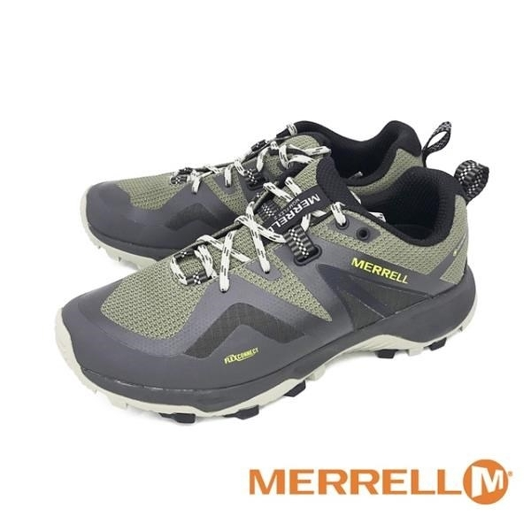 【南紡購物中心】MERRELL(男)MQM FLEX 2 GORE-TEX登山郊山健行鞋 男鞋 -綠