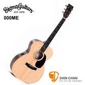 Sigma 吉他 000ME 可插電民謠吉他(雲杉面單板/經典000-14 桶身/四段EQ拾音器) 附贈吉他袋