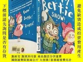 二手書博民逛書店dirty罕見bertie snow:骯臟的伯蒂·斯諾Y200392
