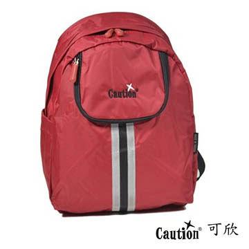旅遊 背包袋 Caution 可欣 6231熱情紅