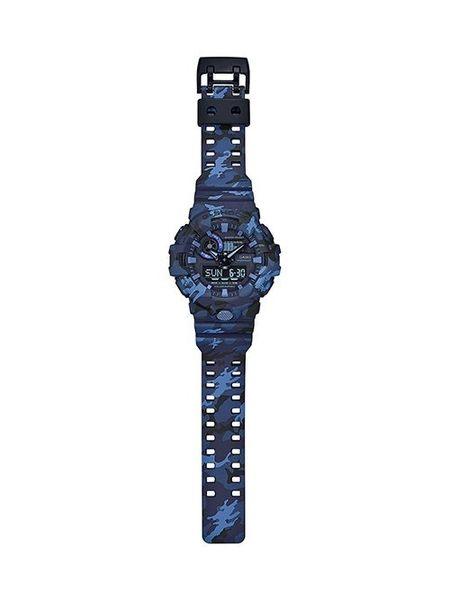附台灣卡西歐保卡才是公司貨【時間光廊】CASIO 卡西歐 G-SHOCK 迷彩風 GA-700CM-2A 海軍藍