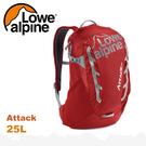 【 LOWE ALPINE 英國 Attack 25 休閒後背包《唐辛子紅》25L】FMP-42/雙肩背包/登山包/健行/旅行