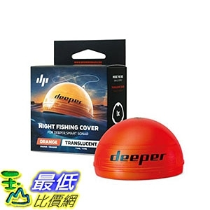 [7美國直購] Deeper Night Fishing Cover (orange) – Compatible with Deeper Smart Sonars