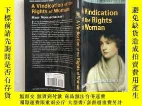 二手書博民逛書店A罕見Vindication of the Rights of