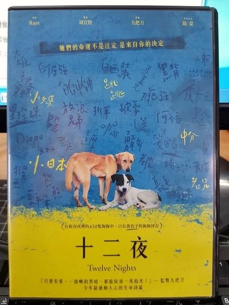 挖寶二手片-Z25-003-正版DVD-華語【十二夜】-九把刀監製*隋棠聯合出品(直購價)