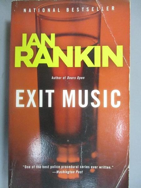 【書寶二手書T7/原文小說_CN4】Exit Music_Rankin, Ian