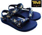 TEVA 女運動涼鞋 ORIGINAL UNIVERSAL (月亮藍) 經典織帶涼鞋 TV1003987SAMI【 胖媛的店 】