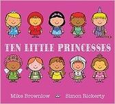 【麥克書店】TEN LITTLE PRINCESSES  /英文繪本 《主題:幽默.童話故事.數數》