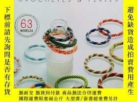 二手書博民逛書店bracelets罕見crochetes & perles 63 modeles 手鐲鉤與珍珠63模型Y191