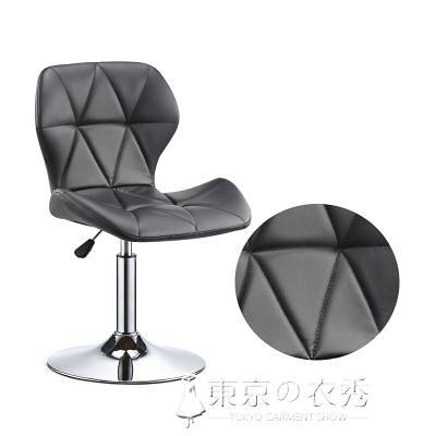 椅子 升降椅現代簡約家用旋轉酒吧椅高腳凳前台收銀椅子靠背凳子【快速出貨】