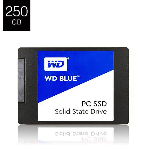 WD 藍標 BLUE 250GB 2.5吋 SATA3 SSD 固態硬碟 三年保固
