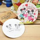 迪士尼杯墊 米老鼠 米奇 米妮 杯墊 吸水杯墊 卡片 杯墊卡片 紙杯墊 圓型杯墊 COCOS MA035