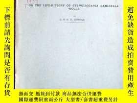 二手書博民逛書店民國1939年外文資料:ON罕見THE LIFE-HISTORY