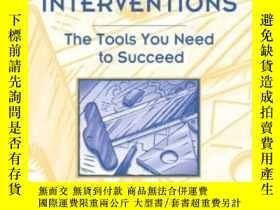 二手書博民逛書店School-based罕見Interventions: The Tools You Need To Succee