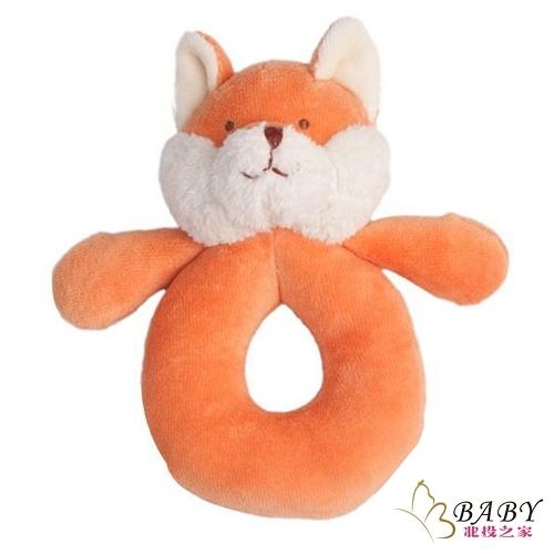 手搖鈴固齒器 有機棉安撫娃娃 智慧小狐狸 | MiYim (嬰幼兒/寶寶/兒童/幼童/小朋友)