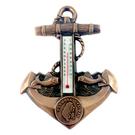 【收藏天地】台灣紀念品*船錨造型溫度計掛飾