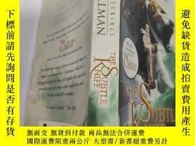 二手書博民逛書店the罕見subtle knife 精巧的小刀..,Y200392