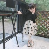 洋裝 秋季兒童連身裙女童波點長袖裙公主小洋裝純棉 童趣屋