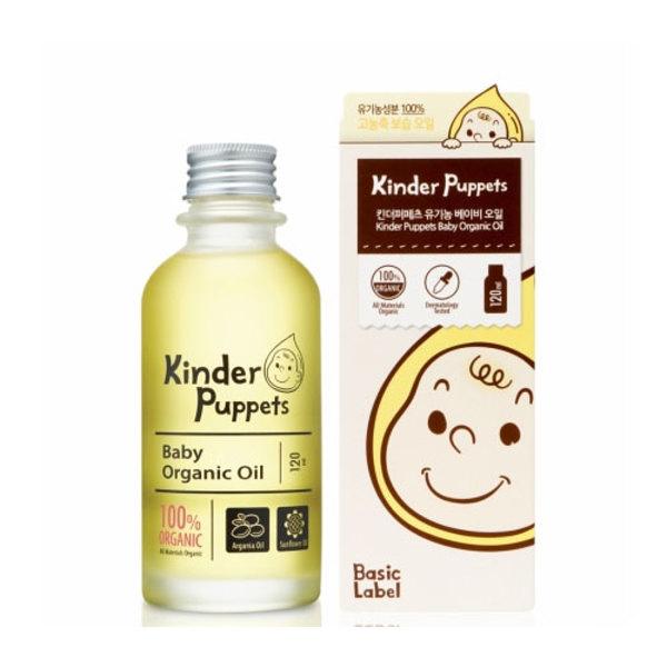 韓國 Kinder Puppets 嬰兒精油120ml
