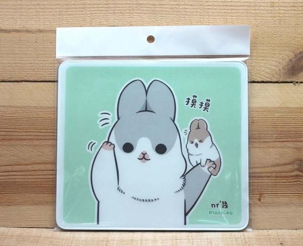 ㄇㄚˊ幾兔 ㄇㄚˊ吉兔 麻幾兔 麻吉兔 ㄇㄚˊ幾滑鼠墊 (摸摸) 43616 辦公小物 【金玉堂文具】