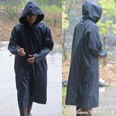 工作雨衣戶外作業保安農活勞保長款連帽加大雨披防水車中備用便攜艾美時尚衣櫥