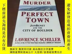 二手書博民逛書店Perfect罕見Murder, Perfect Town 完美的謀殺,完美的小鎮Y197425 Schill