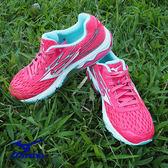 【MIZUNO 促銷7折】MIZUNO (女) WAVE CATALYST 2 (W) 女慢跑鞋 / 紅