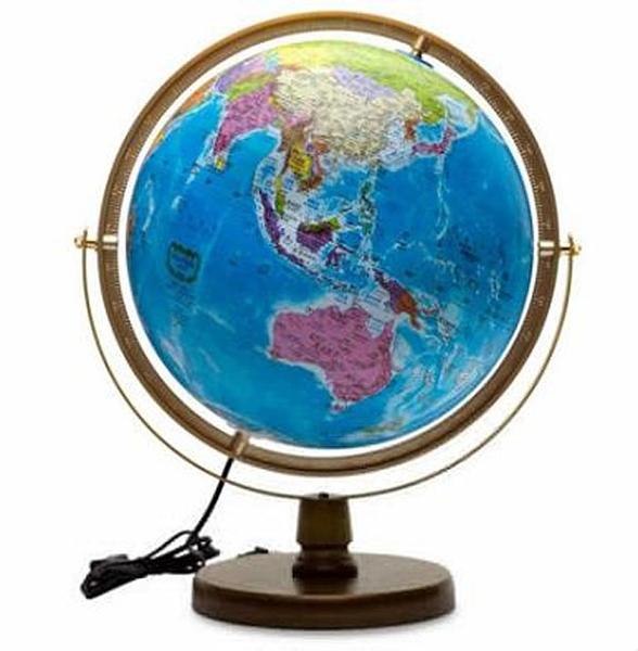 [COSCO代購] W121834 Seojeon Globe LED 中英文星座行政地球儀 12吋