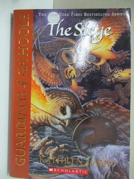 【書寶二手書T1/原文小說_CX2】The Siege_Lasky, Kathryn