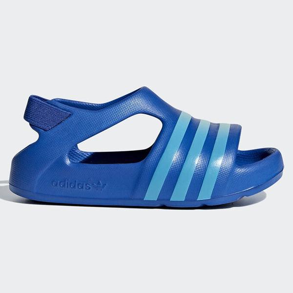 ADIDAS ADILETTE PLAY SLIDES 童鞋 小童 涼鞋 休閒 防水 輕量 藍【運動世界】CG6599