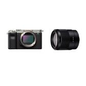 標準街拍組合 SONY α7C A7C 含SEL35F18F 鏡頭 原廠公司貨 微單眼相機 翻轉觸控螢幕 全片幅 A7C