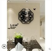 歐式鐘錶掛鐘客廳現代簡約時鐘個性創意時尚錶家用大氣裝飾石英鐘LX 宜室家居