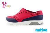 native LENNOX BLOCK 洞洞鞋 小雷諾系列 大童 休閒鞋 K9474#紅色◆OSOME奧森童鞋