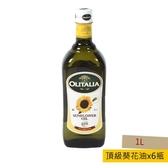義大利奧利塔頂級葵花油 1L 6入