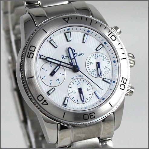 【萬年鐘錶】 Roven Dino 羅梵迪諾 楊丞琳代言 白女錶 RD616