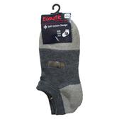 EASY FIT隱形竹碳襪-灰(22~24cm)【愛買】