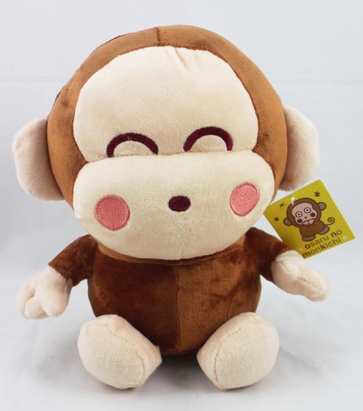 【卡漫城】 淘氣猴 玩偶 25CM ㊣版 絨毛娃娃 布偶 擺飾 佈置 Monkichi 三麗鷗 抱枕 猴子