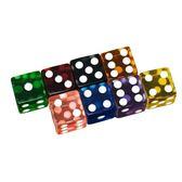 御圣骰子色子18mm大號直角樹脂彩色透明骰子