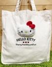 【震撼精品百貨】凱蒂貓_Hello Kitty~日本SANRIO三麗鷗 KITTY 手提包/側背包-立體大頭/白#97549