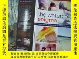 二手書博民逛書店the罕見watercolour enigma stephen coatesY206421