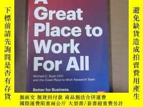 二手書博民逛書店A罕見GREAT PLACE TO WORK FOR AIIY1