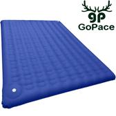 Gopace GP17659 露營達人充氣床墊-藍地XL 氣墊床/露營睡墊/充氣墊