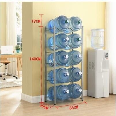 新款水桶架桶裝水支架陳列架倒置純淨水桶放置架收納架【10桶】