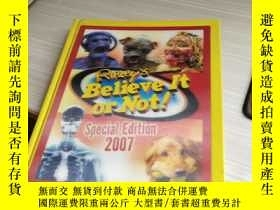 二手書博民逛書店BELIEVE罕見IT OR NOT SPECIAL EDITION 2007Y270289
