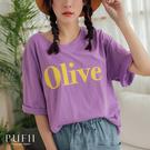 現貨◆PUFII-上衣 正韓Olive圓...