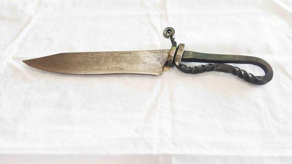 郭常喜與興達刀具--郭常喜限量手工刀品 手工藝術獵刀 (A0351) 方便攜帶 野外求生好幫手