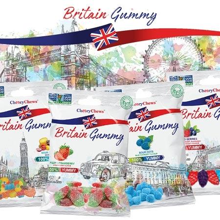 土耳其 Britain Gummy 英國傳統風味軟糖 150g 軟糖 傳統軟糖 草莓 覆盆子 綜合水果 綜合野莓